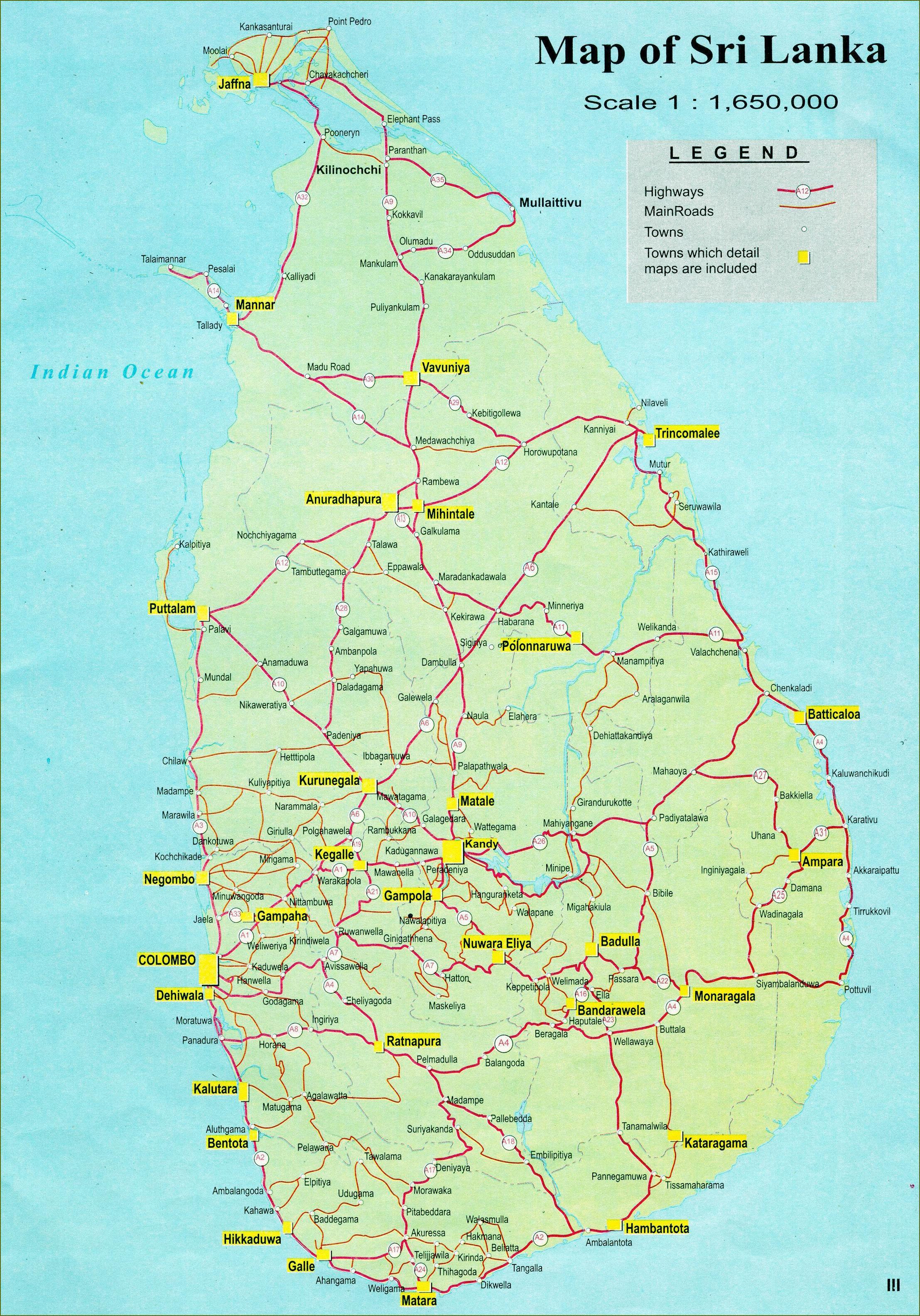 Karta Och Avstand.Sri Lanka Karta Med Avstand Karta Over Sri Lanka Karta Med Avstand